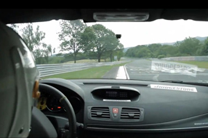 Megane RS Trophy Nürburgring Video