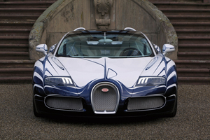 One-off Porcelain Bugatti Veyron Grand Sport L'Or Blanc