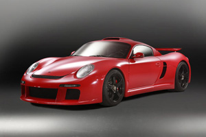 The 750 Horsepower, Third Generation RUF CTR 3
