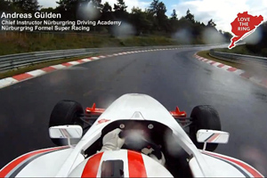 Take a Wet lap around the Nürburgring Nordschleife