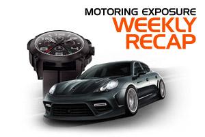 MotoringExposure Weekly Recap 7-30