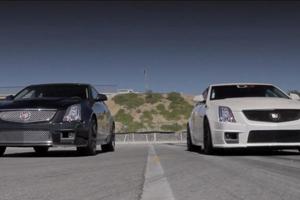 Cadillac CTS-V Wagon vs. D3 Tuning CTS-V Race