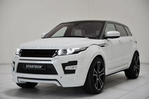 The new Startech Range Rover Evoque Tuning Program