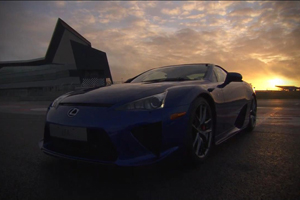 Lexus LFA Silverstone Video