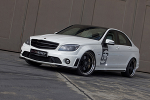 The new Kicherer Mercedes C63 AMG White Edition