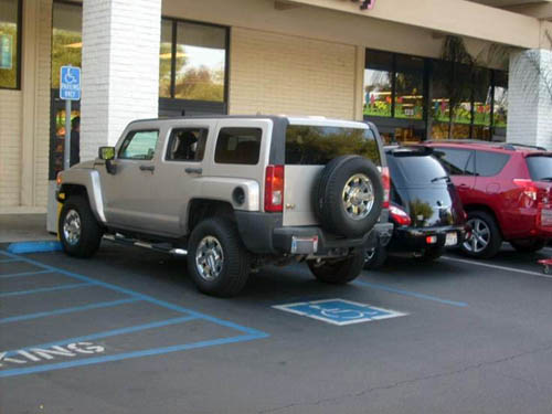 Hummer H2/H3, douchebag cars