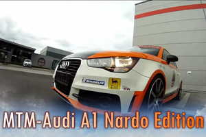 The MTM Audi A1 Nardo Edition is Super Fast – Video