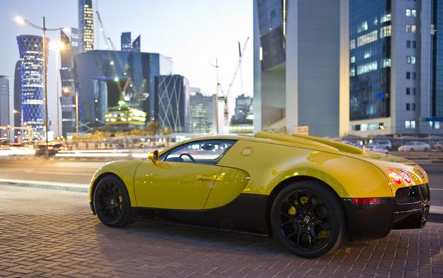 Buggati Veyron Grand Sport in Qatar