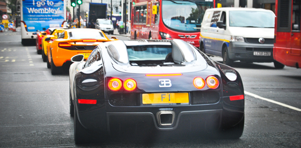 Afzal Kahn's Bugatti Veyron
