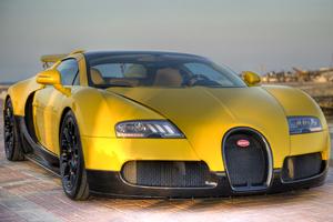 Bugatti Veyron Grand Sport at Qatar Motor Show