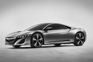 The Acura NSX Concept – Honda's Hybrid Super Car