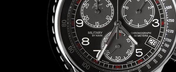 Kahn Design Military Watch