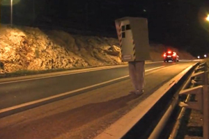 Remi Gaillard and his Speed Camera Shenanigans – Video