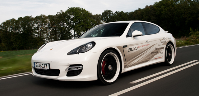 edo competition builds the fastest porsche panamera turbo s. Black Bedroom Furniture Sets. Home Design Ideas