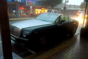 Friday Fail – The ruined, rain-soaked Rolls Royce
