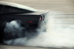 Watch a Corvette ZR1 Drift for Charity – Video