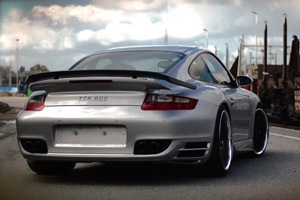 The speedART TTR 600 Porsche 911 Turbo is one Bad Ride