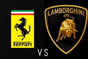 Featured Ferrari vs Lamborghin