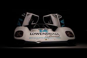 The beautiful Lowenbrau Porsche 962
