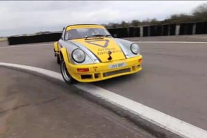 Go sideways with the Tuthill Porsche 911 Rally Car - Video