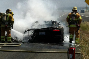 Up in Flames – The $375,000 Lamborghini Aventador Edition