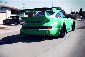 "The Widebody, turbocharged RWB 964 ""Pandora One"" - Video"
