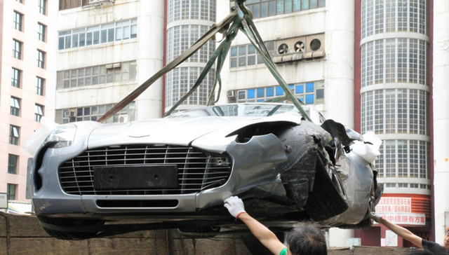 Friday Fail: The Aston Martin One-77 Crash