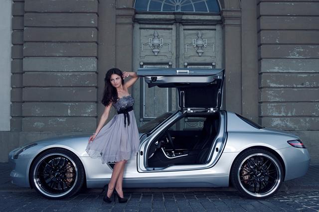 Inden Design Mercedes-Benz SLS AMG with Katja Runiello