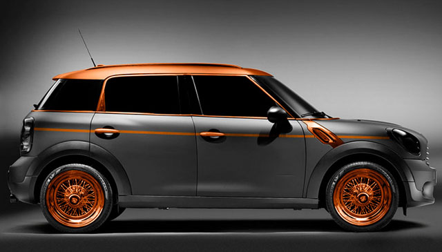 Carlex Steampunk MINI Countryman