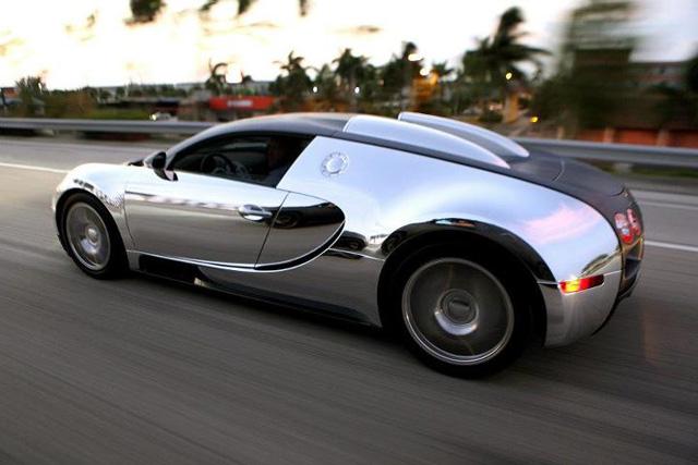 Flo Rida Chrome Bugatti Veyron