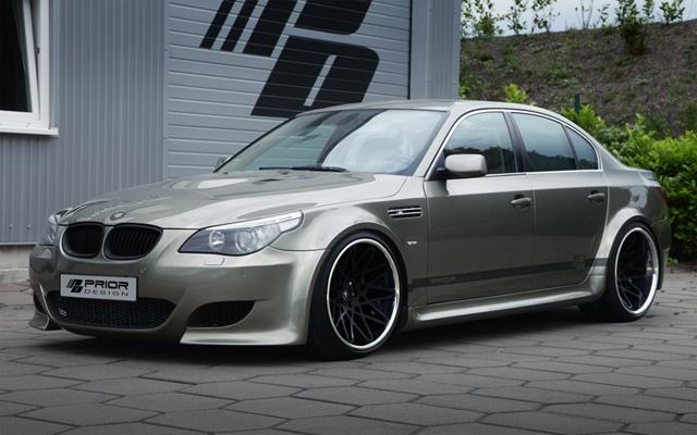 Prior Design BMW E60 5 Series Widebody Kit