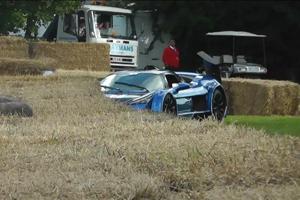 Friday Fail: The Gumpert Apollo S Crash