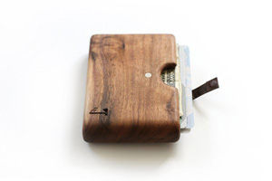 Slim Timber Walnut Wood Wallet