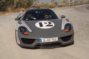 Watch some Porsche 918 Spyder Prototypes undergo Testing in Spain