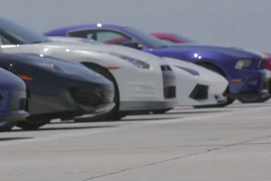 great supercar drag race