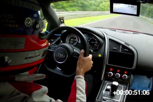 The Audi R8 E-Tron is Silent around the Nürburgring – Video