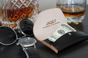 The Slim and Sophisticated Jaquet Blaq Landscape Wallet