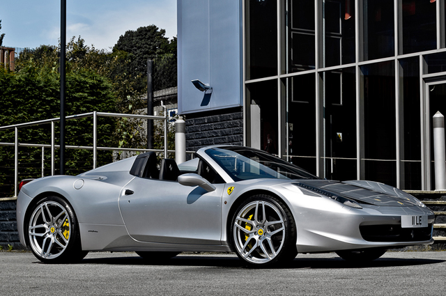 A Kahn Design takes on the Ferrari 458 Italia Spider