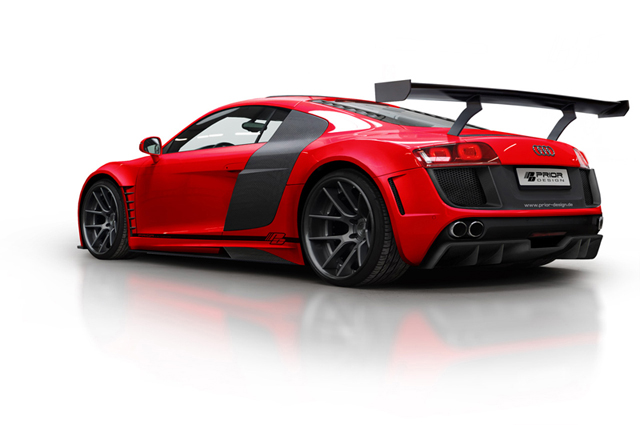 Prior Design shows off their GT3 inspired Audi R8 GT850