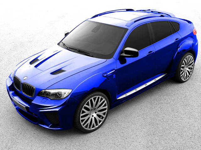 The BMW X6 Is Getting Wide with A Kahn Design – Preview