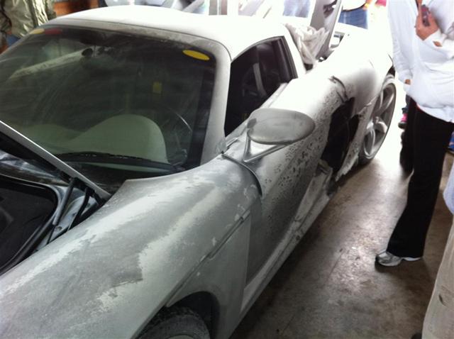 Carrera GT Crash