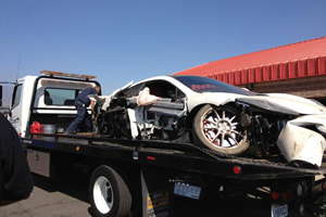 MP4-12C Wreck