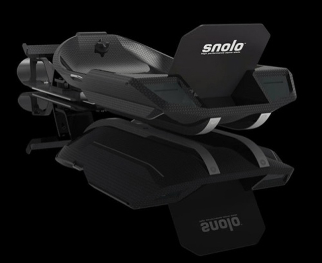The Snolo Stealth X Sled is one Badass Winter Ride