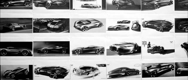 The new 2014 Corvette Teaser – Where Every Line Matters