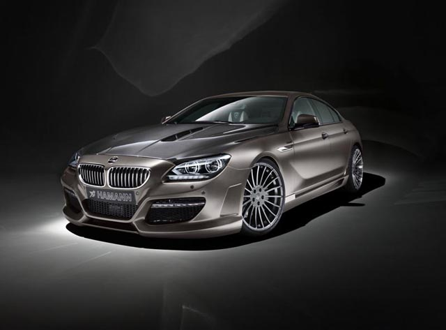 Hamann Restyles the new BMW 6 Series Gran Coupe
