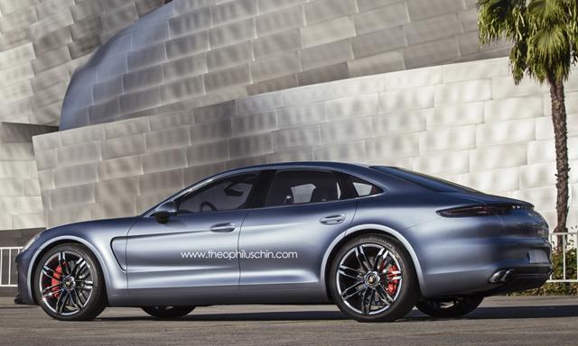 2016 Porsche Panamera Rendering