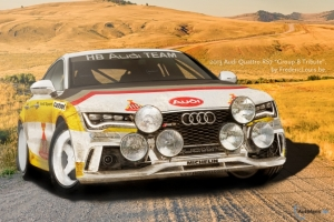 Audi RS 7 Group B Rendering