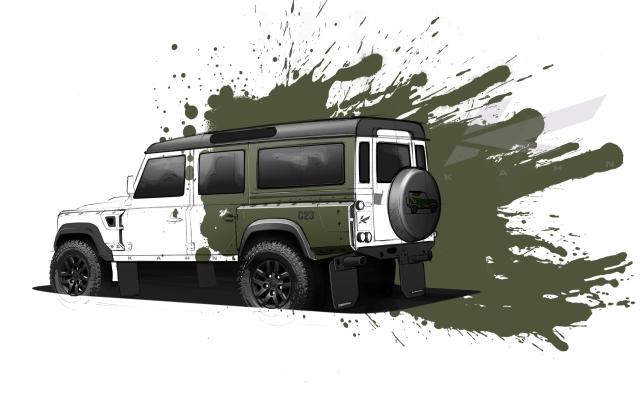 A Kahn Design Defender 110 – Concept 23