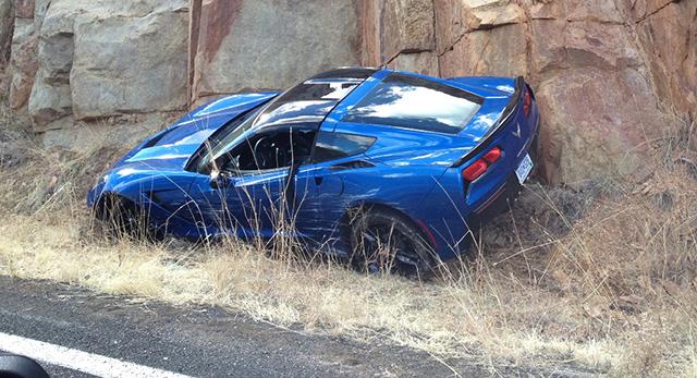 Chevrolet Corvette Prototype Crash