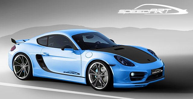 A Sneak Peek at the Upcoming speedART SP81 CR Porsche Cayman